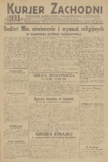 Kurjer Zachodni Iskra : dziennik polityczny, gospodarczy i literacki. R.22, 1931, nr11