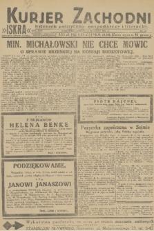 Kurjer Zachodni Iskra : dziennik polityczny, gospodarczy i literacki. R.22, 1931, nr13