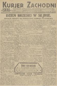 Kurjer Zachodni Iskra : dziennik polityczny, gospodarczy i literacki. R.22, 1931, nr16