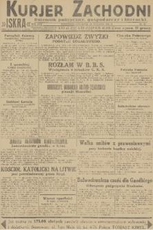Kurjer Zachodni Iskra : dziennik polityczny, gospodarczy i literacki. R.22, 1931, nr23