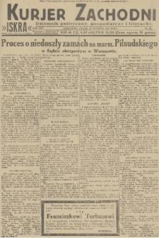 Kurjer Zachodni Iskra : dziennik polityczny, gospodarczy i literacki. R.22, 1931, nr24