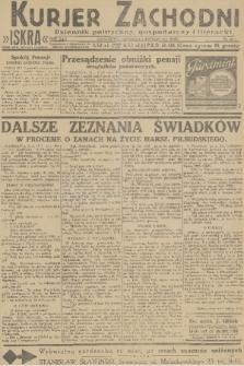 Kurjer Zachodni Iskra : dziennik polityczny, gospodarczy i literacki. R.22, 1931, nr26