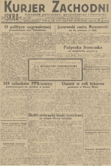 Kurjer Zachodni Iskra : dziennik polityczny, gospodarczy i literacki. R.22, 1931, nr28