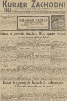 Kurjer Zachodni Iskra : dziennik polityczny, gospodarczy i literacki. R.22, 1931, nr32