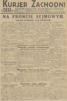 Kurjer Zachodni Iskra : dziennik polityczny, gospodarczy i literacki. R.22, 1931, nr33