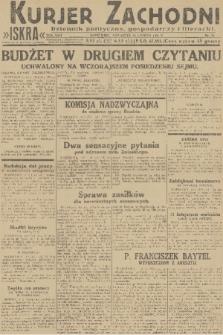 Kurjer Zachodni Iskra : dziennik polityczny, gospodarczy i literacki. R.22, 1931, nr35