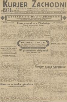 Kurjer Zachodni Iskra : dziennik polityczny, gospodarczy i literacki. R.22, 1931, nr38