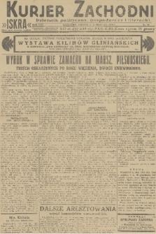 Kurjer Zachodni Iskra : dziennik polityczny, gospodarczy i literacki. R.22, 1931, nr39