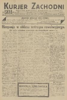 Kurjer Zachodni Iskra : dziennik polityczny, gospodarczy i literacki. R.22, 1931, nr40