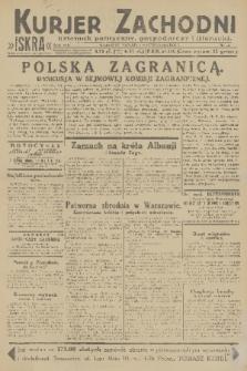 Kurjer Zachodni Iskra : dziennik polityczny, gospodarczy i literacki. R.22, 1931, nr44