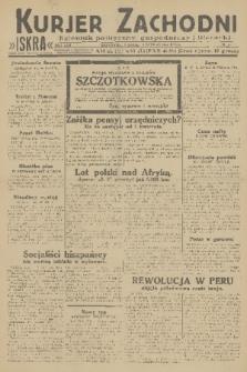 Kurjer Zachodni Iskra : dziennik polityczny, gospodarczy i literacki. R.22, 1931, nr45