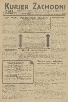 Kurjer Zachodni Iskra : dziennik polityczny, gospodarczy i literacki. R.22, 1931, nr49