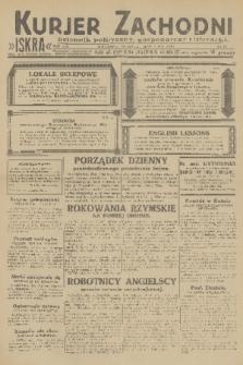 Kurjer Zachodni Iskra : dziennik polityczny, gospodarczy i literacki. R.22, 1931, nr50