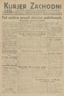 Kurjer Zachodni Iskra : dziennik polityczny, gospodarczy i literacki. R.22, 1931, nr51