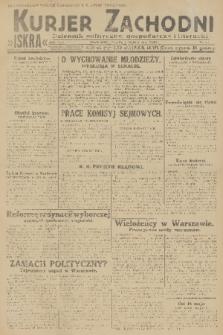 Kurjer Zachodni Iskra : dziennik polityczny, gospodarczy i literacki. R.22, 1931, nr54