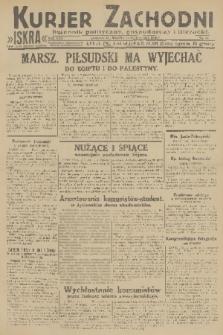 Kurjer Zachodni Iskra : dziennik polityczny, gospodarczy i literacki. R.22, 1931, nr61