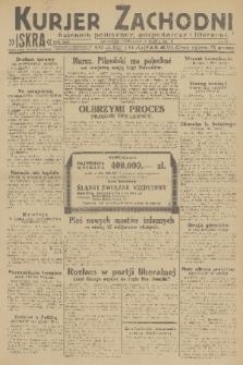 Kurjer Zachodni Iskra : dziennik polityczny, gospodarczy i literacki. R.22, 1931, nr65