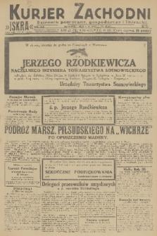 Kurjer Zachodni Iskra : dziennik polityczny, gospodarczy i literacki. R.22, 1931, nr70