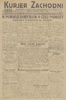 Kurjer Zachodni Iskra : dziennik polityczny, gospodarczy i literacki. R.22, 1931, nr71