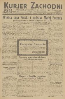 Kurjer Zachodni Iskra : dziennik polityczny, gospodarczy i literacki. R.22, 1931, nr73