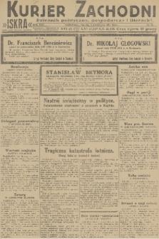 Kurjer Zachodni Iskra : dziennik polityczny, gospodarczy i literacki. R.22, 1931, nr78