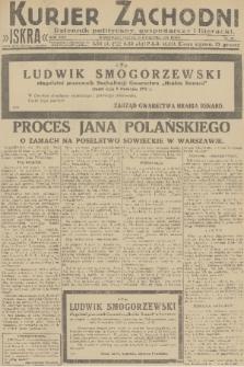 Kurjer Zachodni Iskra : dziennik polityczny, gospodarczy i literacki. R.22, 1931, nr82