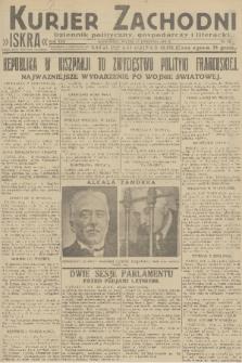 Kurjer Zachodni Iskra : dziennik polityczny, gospodarczy i literacki. R.22, 1931, nr88