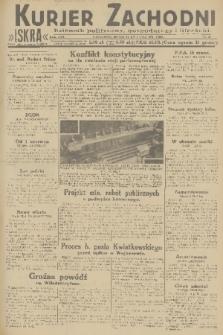 Kurjer Zachodni Iskra : dziennik polityczny, gospodarczy i literacki. R.22, 1931, nr92