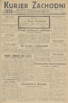 Kurjer Zachodni Iskra : dziennik polityczny, gospodarczy i literacki. R.22, 1931, nr93