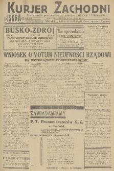 Kurjer Zachodni Iskra : dziennik polityczny, gospodarczy i literacki. R.22, 1931, nr96