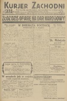 Kurjer Zachodni Iskra : dziennik polityczny, gospodarczy i literacki. R.22, 1931, nr102