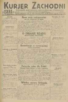 Kurjer Zachodni Iskra : dziennik polityczny, gospodarczy i literacki. R.22, 1931, nr106