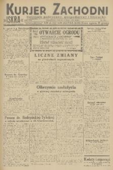 Kurjer Zachodni Iskra : dziennik polityczny, gospodarczy i literacki. R.22, 1931, nr107