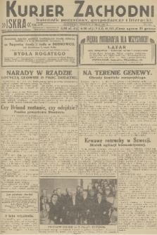 Kurjer Zachodni Iskra : dziennik polityczny, gospodarczy i literacki. R.22, 1931, nr113