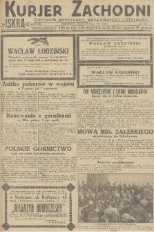 Kurjer Zachodni Iskra : dziennik polityczny, gospodarczy i literacki. R.22, 1931, nr115