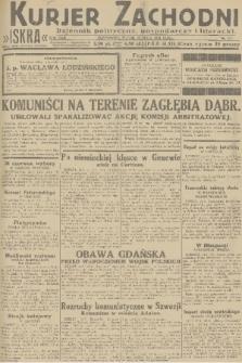 Kurjer Zachodni Iskra : dziennik polityczny, gospodarczy i literacki. R.22, 1931, nr117