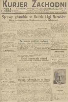Kurjer Zachodni Iskra : dziennik polityczny, gospodarczy i literacki. R.22, 1931, nr118
