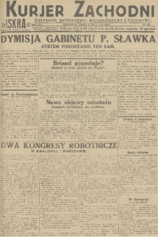 Kurjer Zachodni Iskra : dziennik polityczny, gospodarczy i literacki. R.22, 1931, nr120