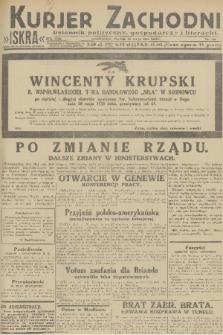 Kurjer Zachodni Iskra : dziennik polityczny, gospodarczy i literacki. R.22, 1931, nr122