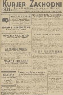 Kurjer Zachodni Iskra : dziennik polityczny, gospodarczy i literacki. R.22, 1931, nr124