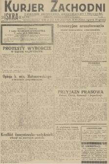 Kurjer Zachodni Iskra : dziennik polityczny, gospodarczy i literacki. R.22, 1931, nr130