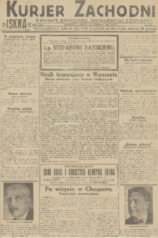 Kurjer Zachodni Iskra : dziennik polityczny, gospodarczy i literacki. R.22, 1931, nr131