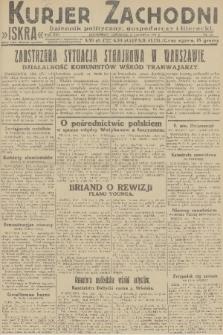 Kurjer Zachodni Iskra : dziennik polityczny, gospodarczy i literacki. R.22, 1931, nr132