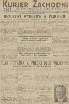 Kurjer Zachodni Iskra : dziennik polityczny, gospodarczy i literacki. R.22, 1931, nr142