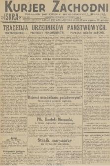 Kurjer Zachodni Iskra : dziennik polityczny, gospodarczy i literacki. R.22, 1931, nr144