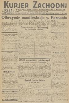 Kurjer Zachodni Iskra : dziennik polityczny, gospodarczy i literacki. R.22, 1931, nr151