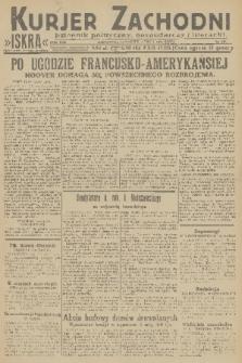 Kurjer Zachodni Iskra : dziennik polityczny, gospodarczy i literacki. R.22, 1931, nr155
