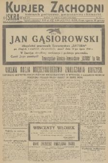 Kurjer Zachodni Iskra : dziennik polityczny, gospodarczy i literacki. R.22, 1931, nr157