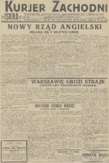 Kurjer Zachodni Iskra : dziennik polityczny, gospodarczy i literacki. R.22, 1931, nr196
