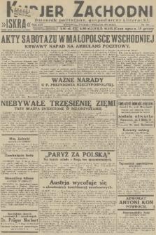Kurjer Zachodni Iskra : dziennik polityczny, gospodarczy i literacki. R.22, 1931, nr200